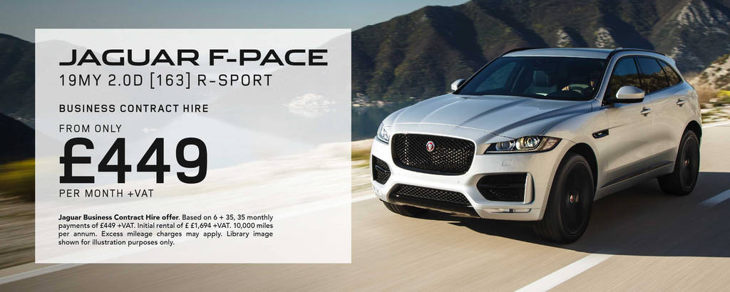 6 Month Rental Lease Agreement Unique Jaguar F Pace Business Contract Hire Fers