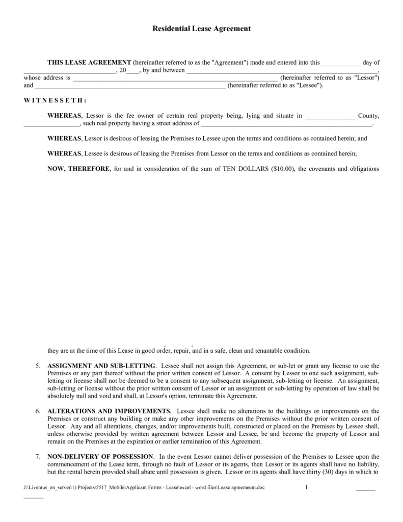 New York State Lease Agreement form Elegant Printable Rent Lease Agreement forms