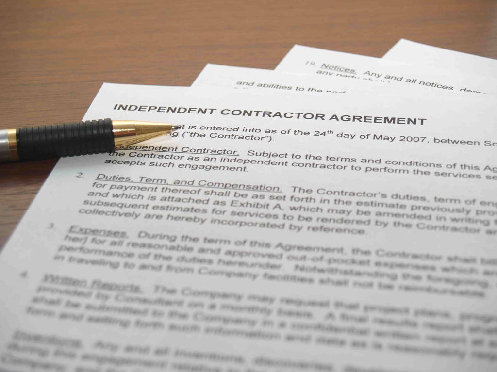 Non Compete Agreement Between Two Companies Fresh Hiring and Paying An Independent Contractor
