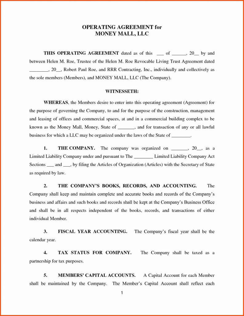 Revocable Living Trust Agreement Awesome Revocable Living Trust form Pdf Exceptional Templates Ny Sample