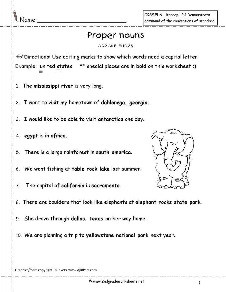 Subject Verb Agreement Quiz Chomp Chomp Inspirationa Proper Nouns Worksheet Language Literacy Pinterest