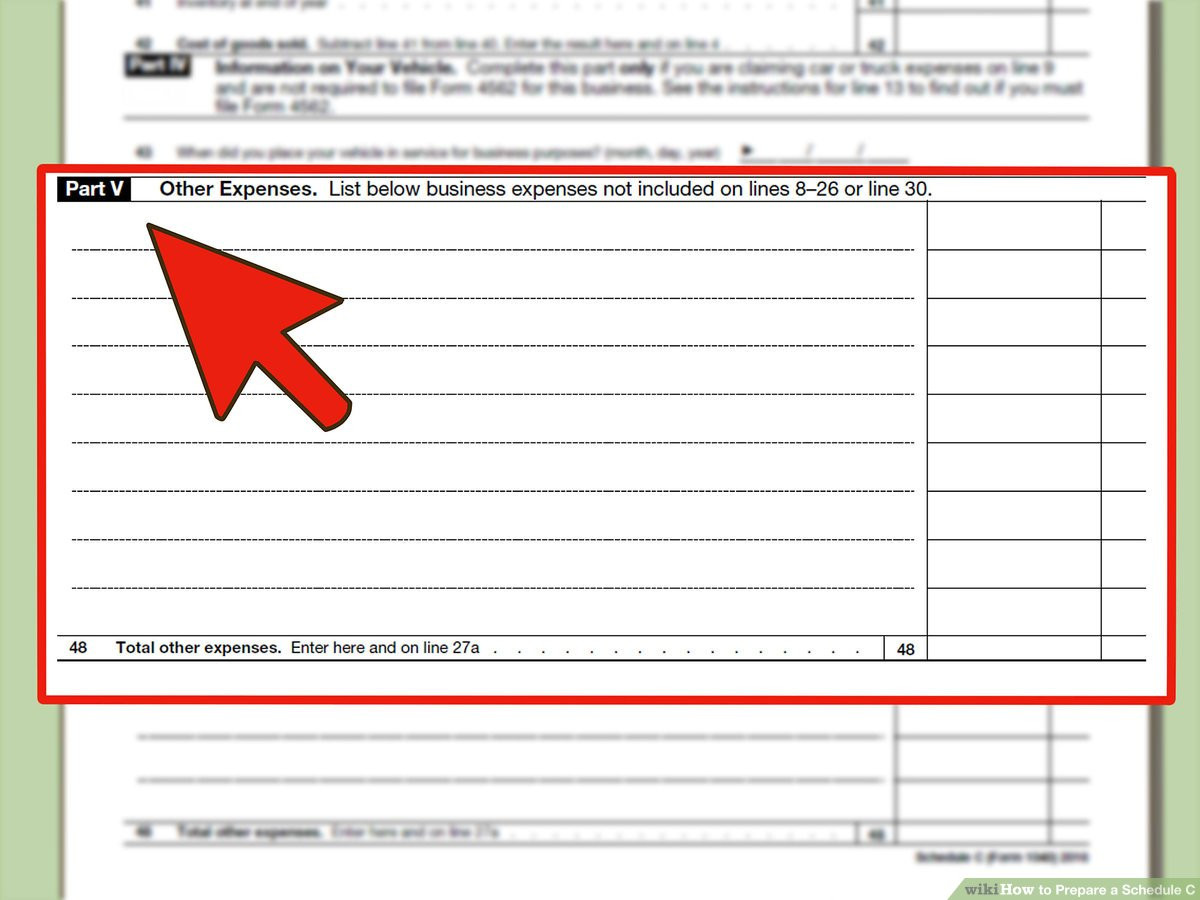 1099 form for Llc Best Of How to Prepare A Schedule C 10 Steps with Wikihow