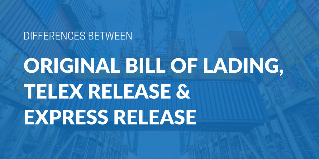 Bill Of Lading Example form Beautiful Differences Between An original Bill Of Lading Telex