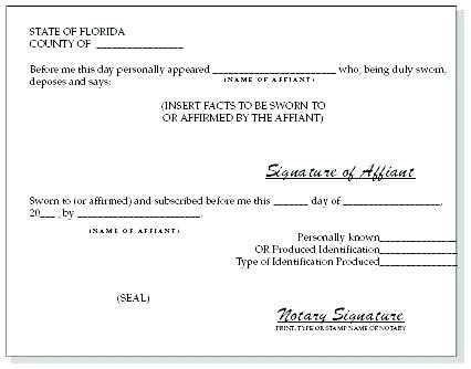 Florida Piercing Notary form Elegant Witness form Template Notary Signature Example Letter