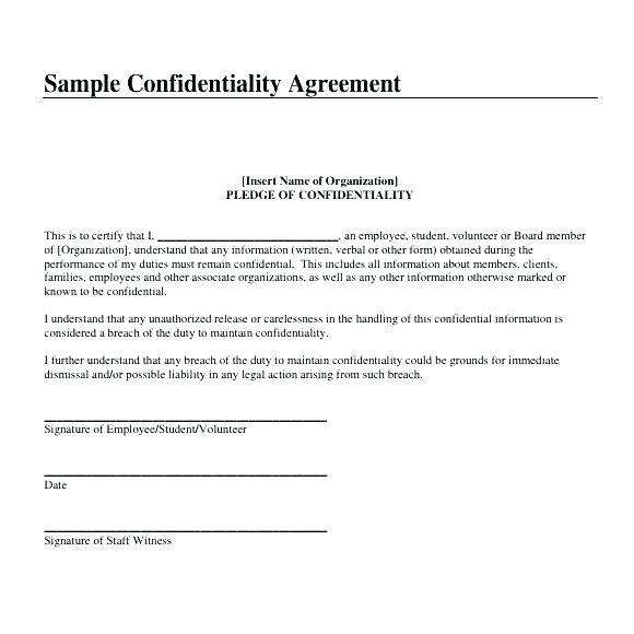 Hipaa Confidentiality form for Employees Unique Employee Confidentiality Agreement Template Non Disclosure