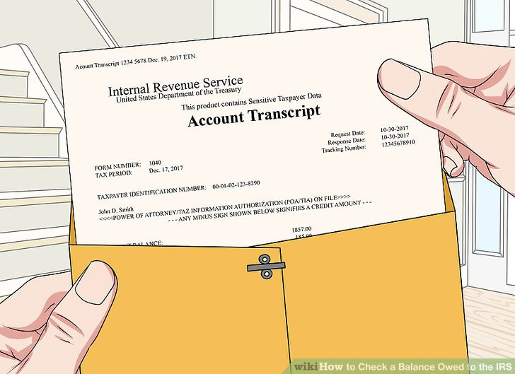 Irs Federal Tax Id form Lovely 3 Ways to Check A Balance Owed to the Irs Wikihow