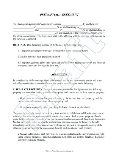 Sample Prenuptial Agreement Florida Inspirational Prenuptial Agreement Template Free – Dialab