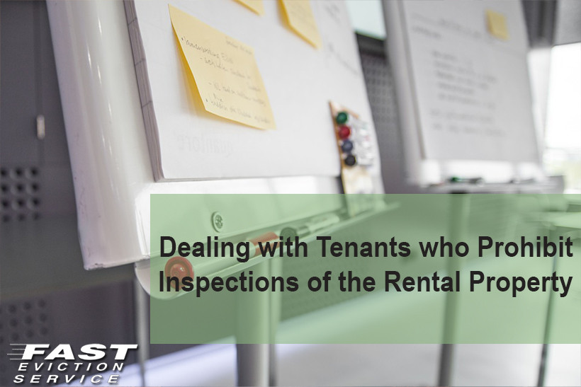 Unlawful Detainer Los Angeles forms Fresh Dealing with Tenants who Prohibit Inspections Of the Rental