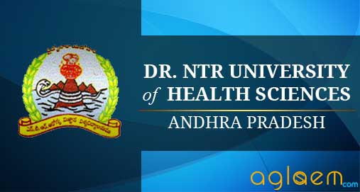 NTRUHS Dr NTR University of Health Sciences