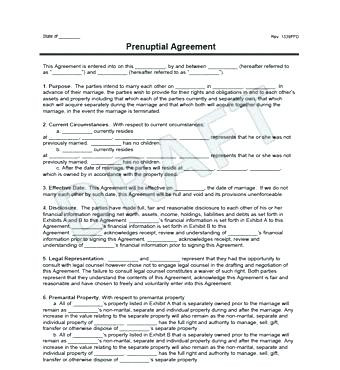 What is A Prenuptial Agreement New Free Printable Prenuptial Agreement form Business Mentor