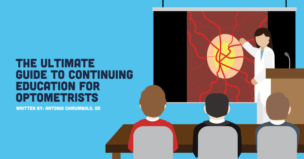 Ultimate Guide to Continuing Education for Optometrists 1024x536