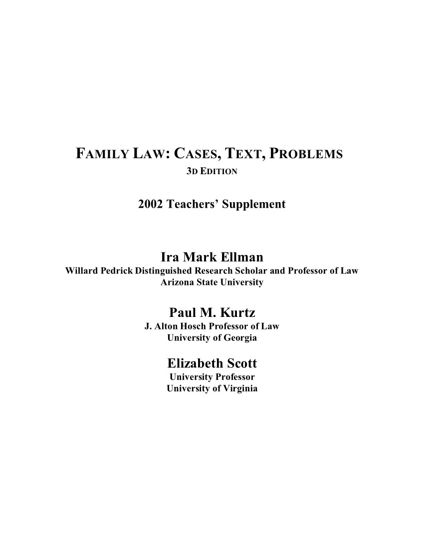 Arizona Child Support Termination forms Beautiful Pdf Family Law Cases Text Problems
