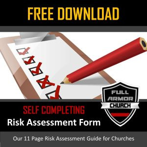 Church Security assessment form Best Of Free Church Risk assessment form Digital Download