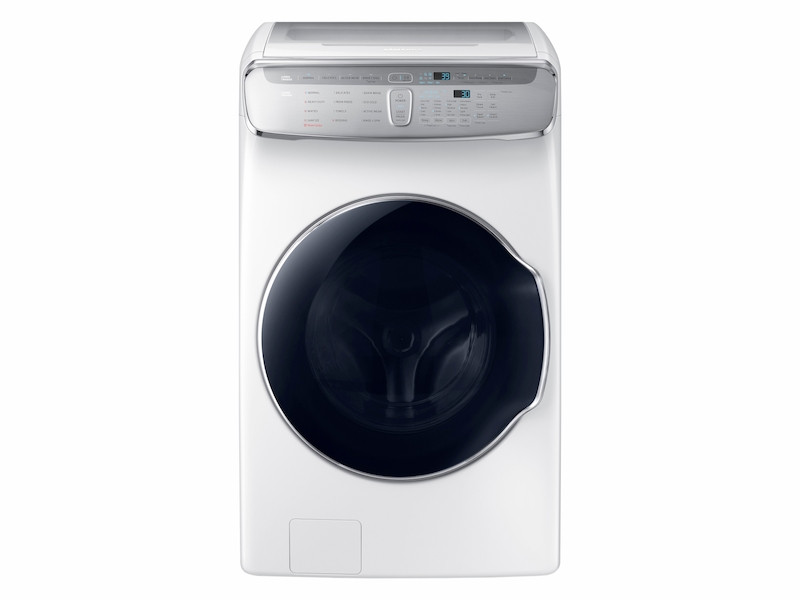 01 Washer FlexWash WV60M9900AW Front Empty Closed White