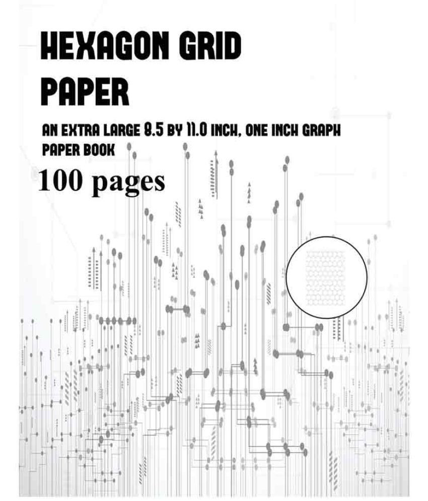 Hexagon Graph Paper Best Hexagon Grid Paper
