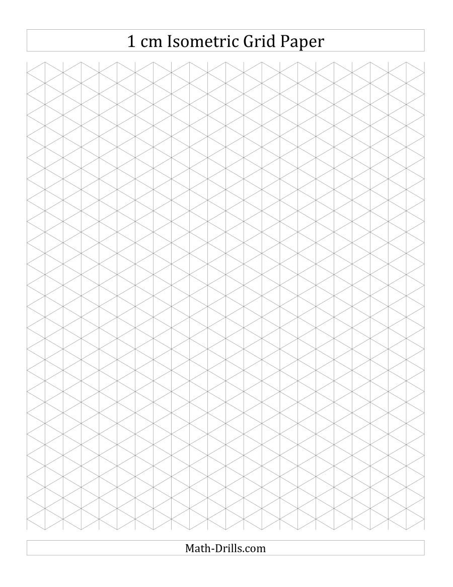 Hexagon Graph Paper Excellent Free Printable Graph Paper 1cm