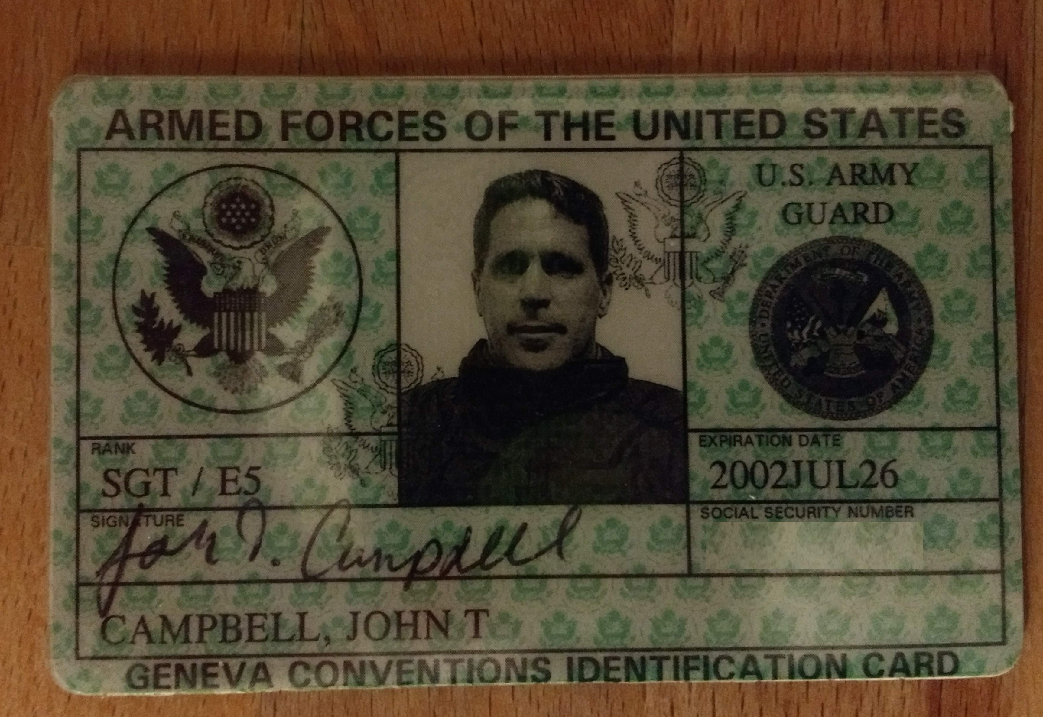 Military Drivers License form Awesome United States Uniformed Services Privilege and