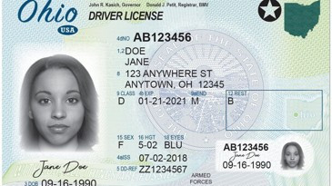 Military Drivers License form Creative Ohioans Will Have to Wait 10 Days to Receive their License