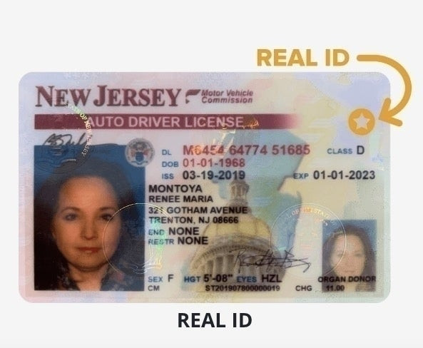 Military Drivers License form Perfect New Timeframe for Big Nj Driver S License Changes Real Id