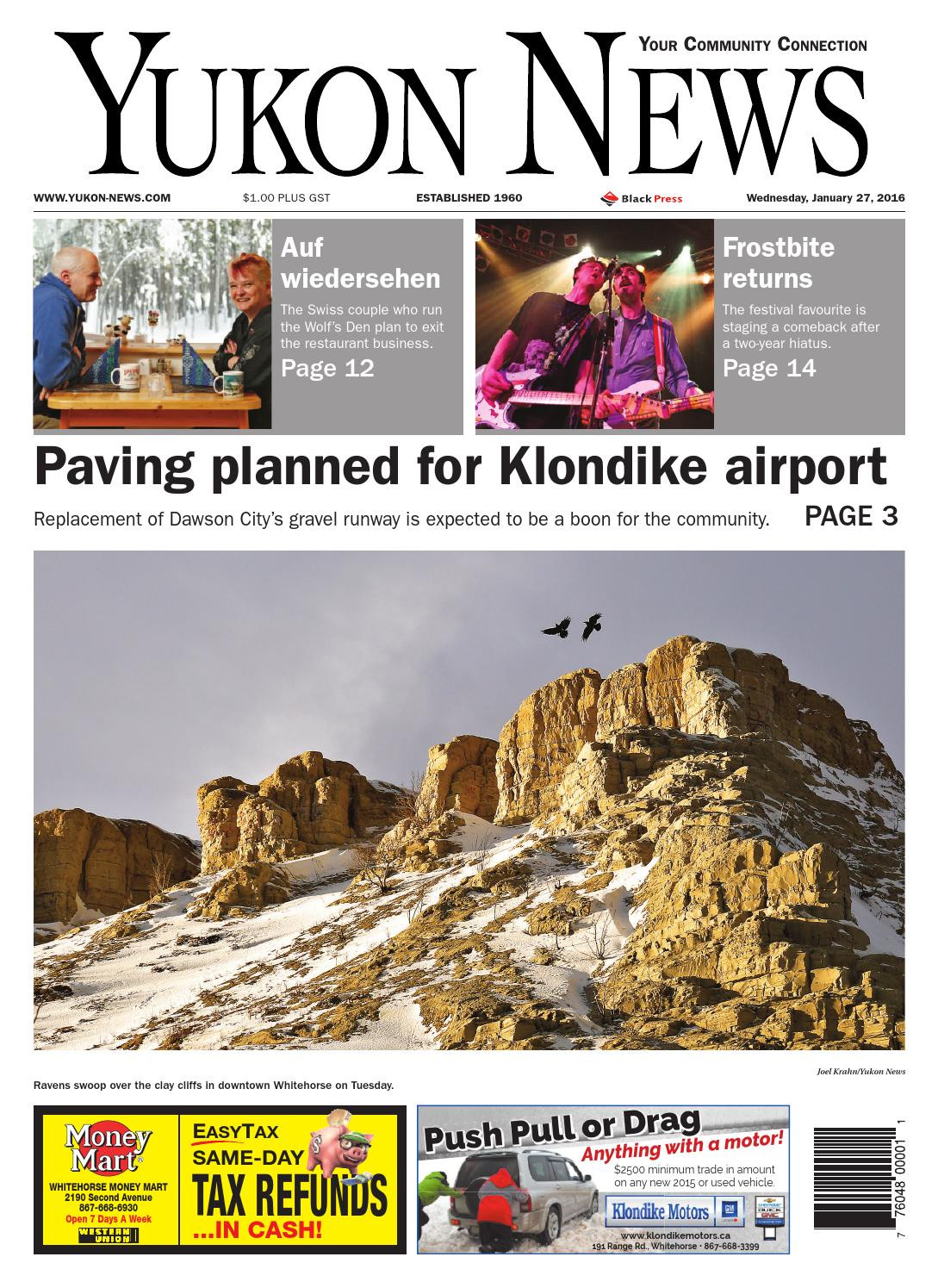 Yukon Department Of Health and social Services Cool Yukon News January 27 2016 by Black Press Media Group issuu