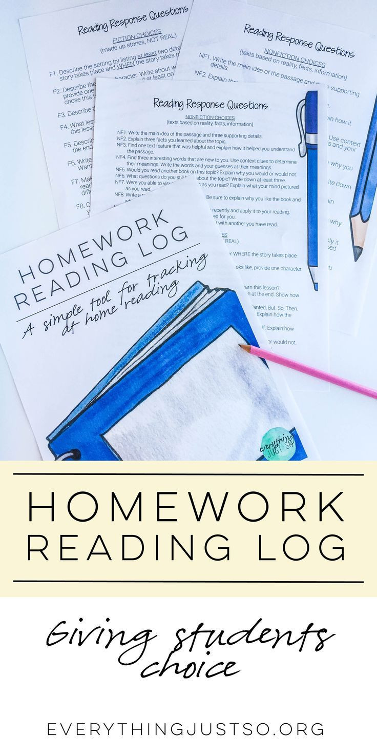 5th Grade Reading Log Wonderful Homework Reading Log Everythingjustso