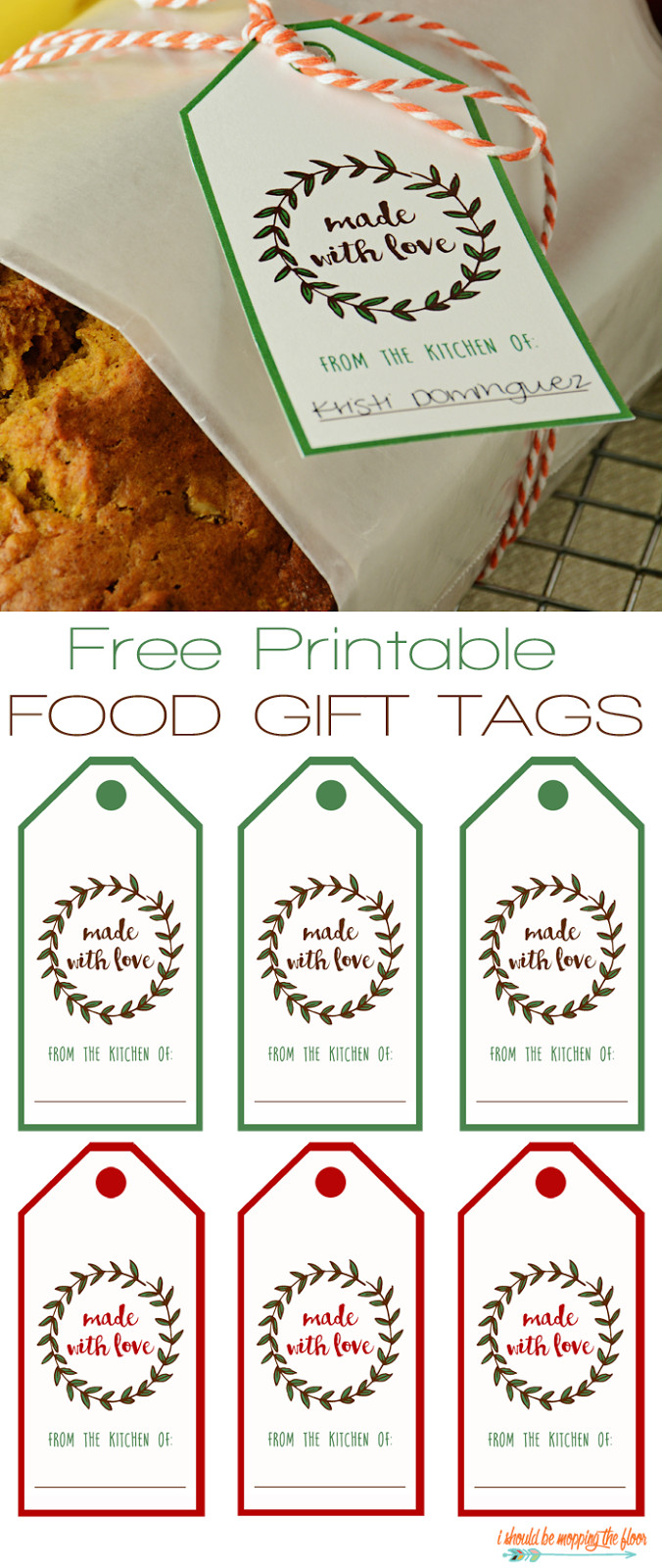 Gift Tag Template Photos Of Free Printable Food Gift Tags