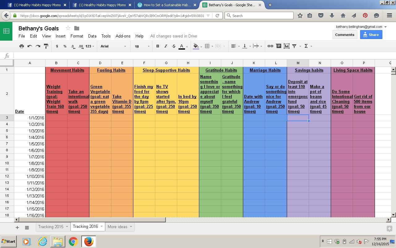 Iep Goal Tracking Sheets Best the Rainbow Et Habit Tracking Template Power Sheet Goal