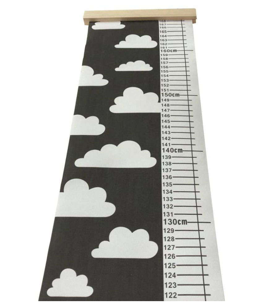 Kids Height Chart Collection nordic Children Height Ruler Canvas Hanging Growth Chart