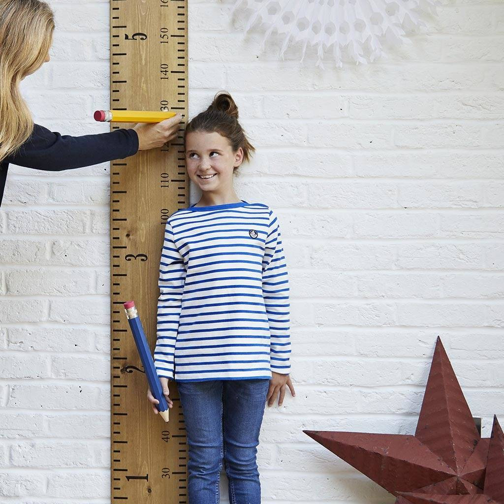 Kids Height Chart Excellent Personalised Wooden Ruler Height Chart Kids Rule