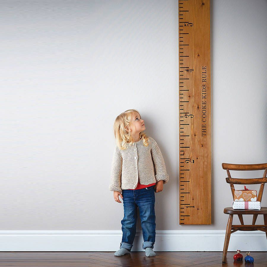 Kids Height Chart Nice Personalised Wooden Ruler Height Chart Kids Rule