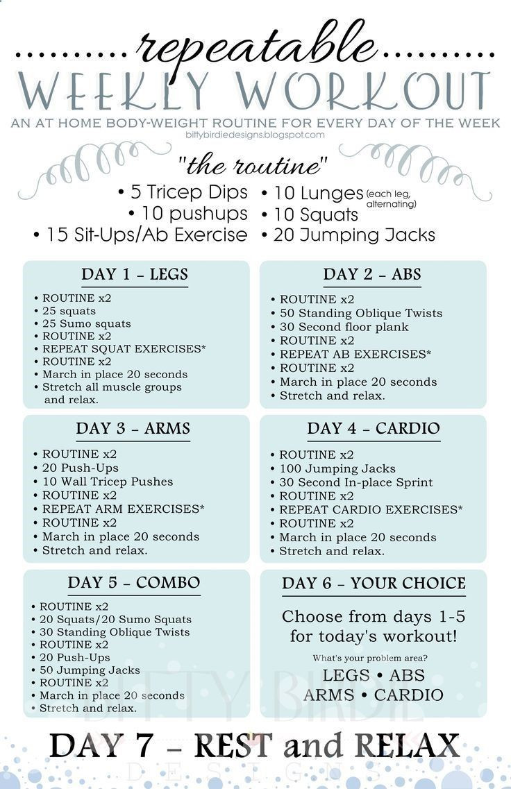 Monthly Workout Schedule Great Pin On Workout