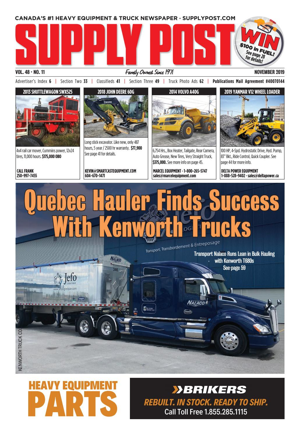 New Brunswick Department Of Transportation and Infrastructure Awesome Supply Post November 2019 by Supply Post Newspaper issuu
