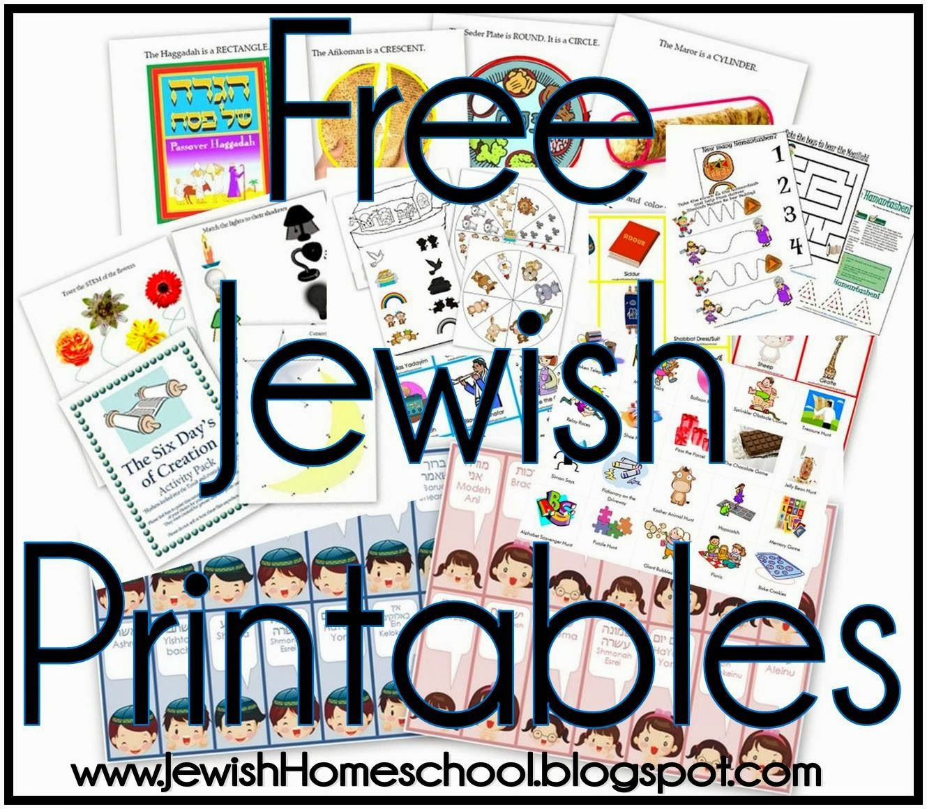 Paper Dreidel Template Best Free Jewish Printables and Activity Packs