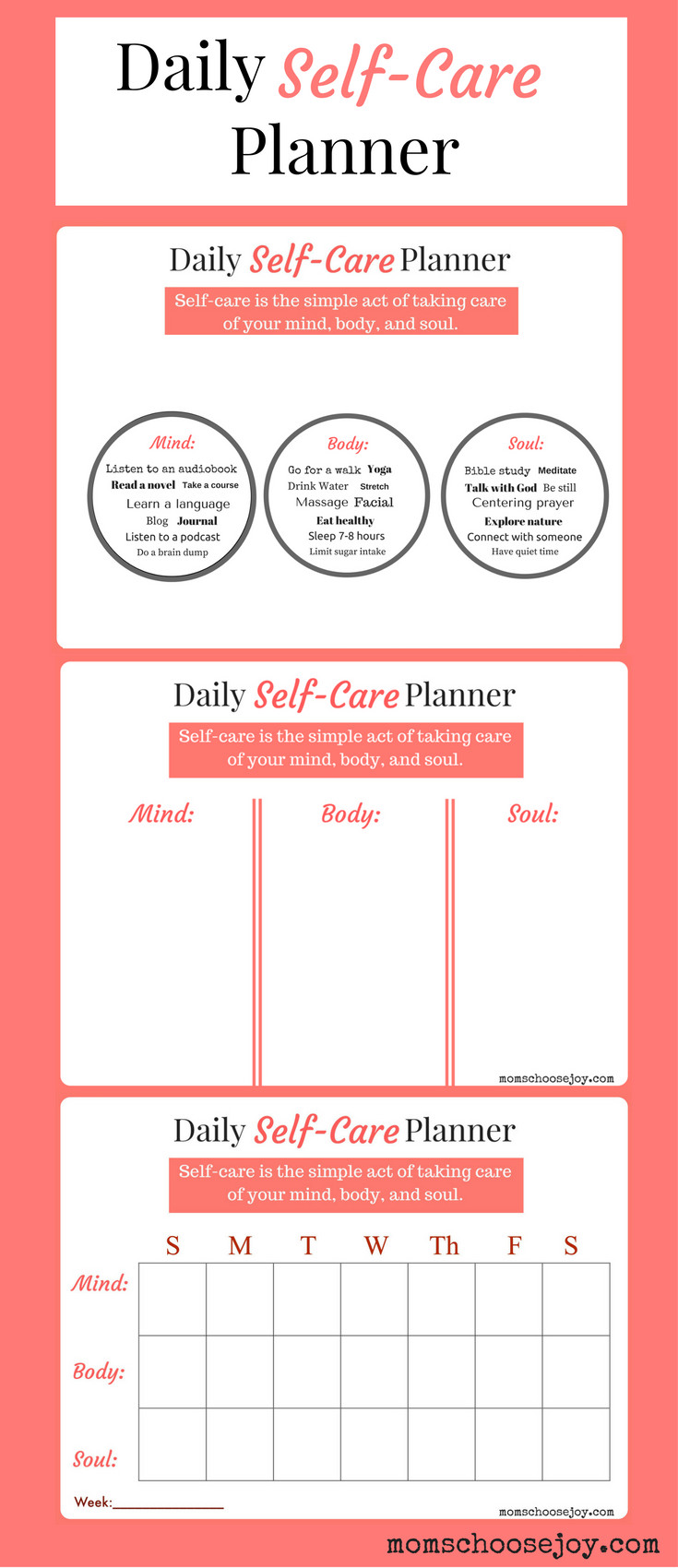 Personal Care Checklist Template Unique Do You Prioritize Self Care A Daily Self Care Planner Will