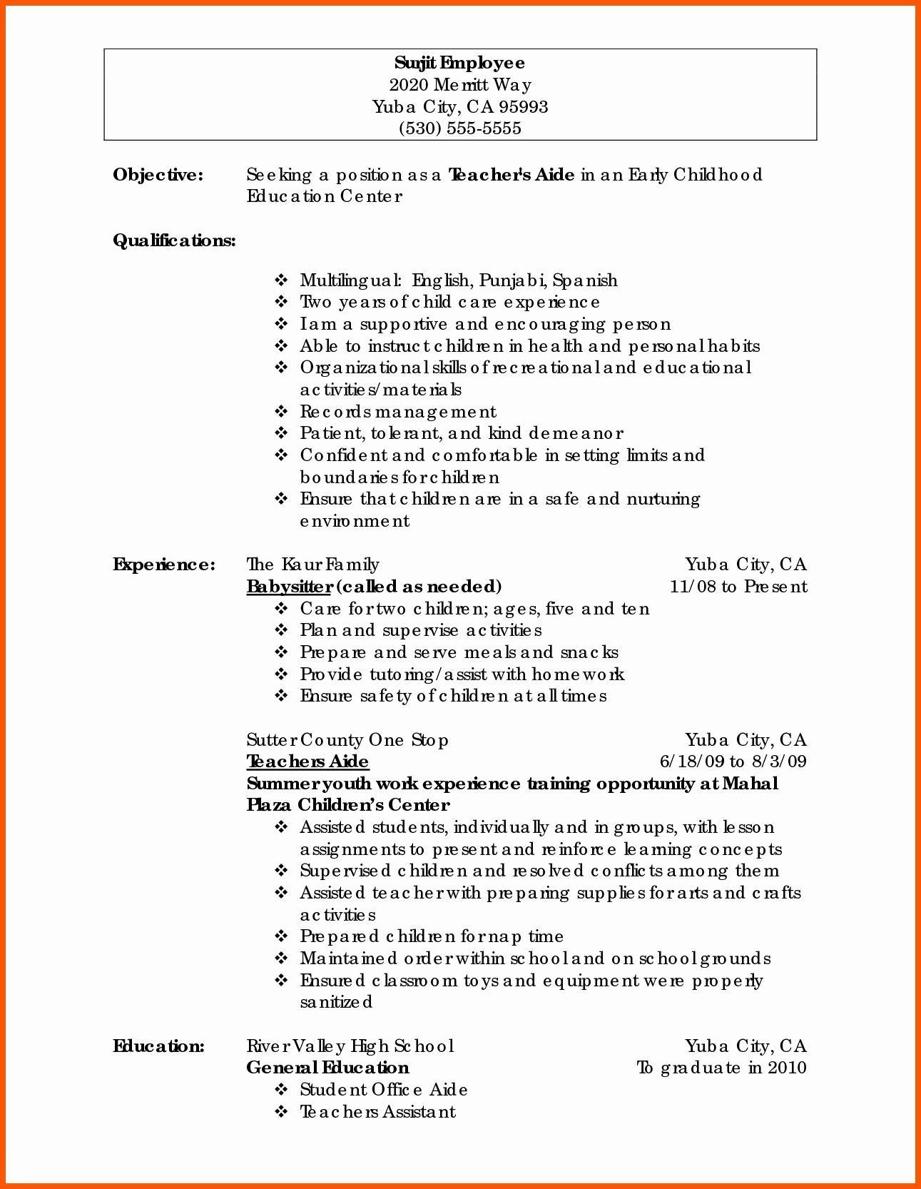 Personal Statement Template Easy Sample Personal Statement for Resume A Good Resume New New