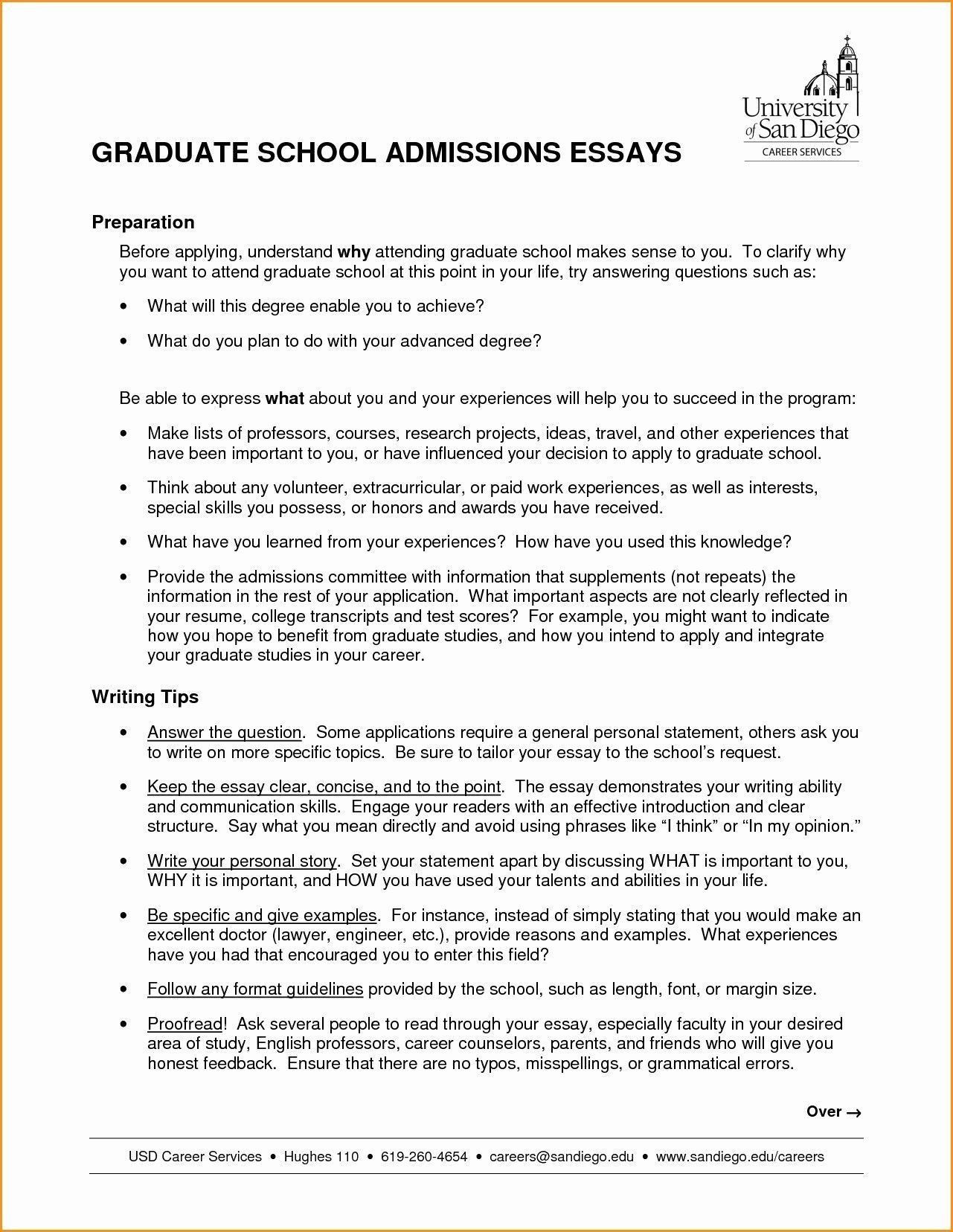 Personal Statement Template Unique Student Essay Example Valid Elegant Recent Graduate Cover
