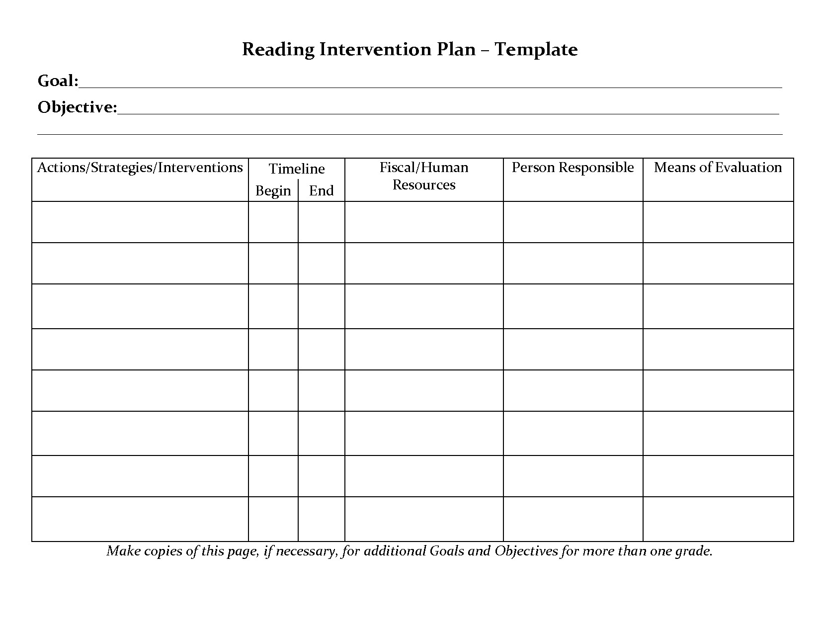 Preschool Teacher Evaluation form Perfect Student Planner Templates
