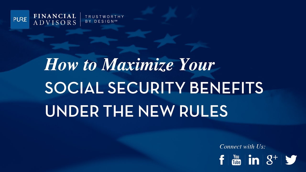 Social Security Disability Application form Nice [webinar] Maximizing Your social Security Benefits Under New Rules