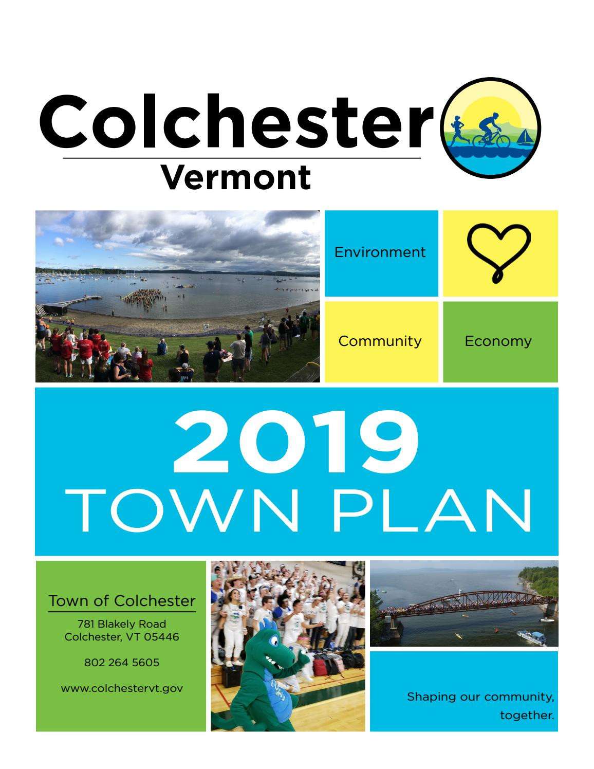 Vermont Department Of Housing and Community Development Easy town Of Colchester S 2019 town Plan by Colchestervt issuu