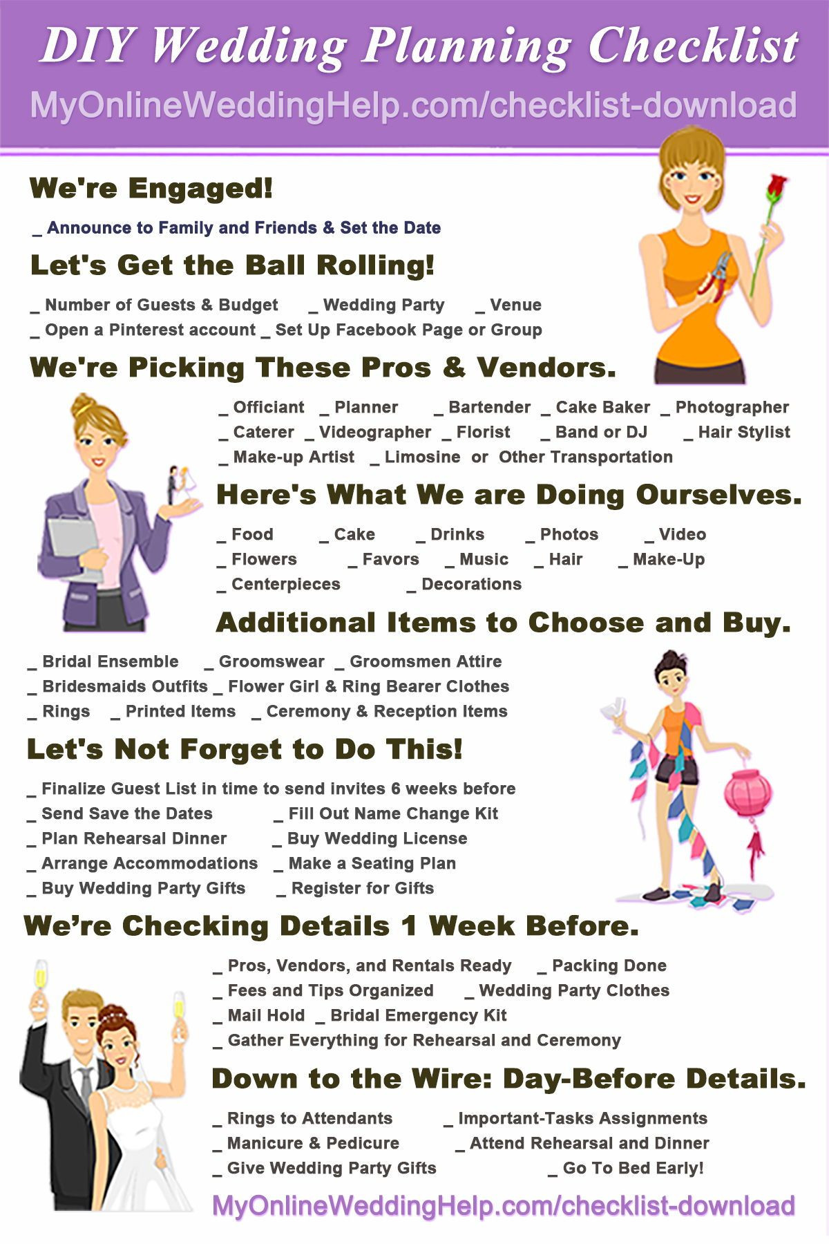 Wedding Check List Professional Your Plete Wedding Checklist 10 Steps Plus Timeline